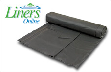 Flexible flat sheet pond liners